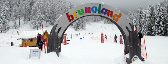 Brunoland baby snow park di Obereggen